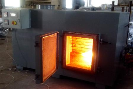 incinerator to burn nearly 10ton(10,000kg) of tobacco waste dust) from a tobacco processing plant.